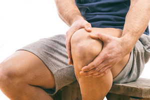 Ortho-bionomy working with knee pain